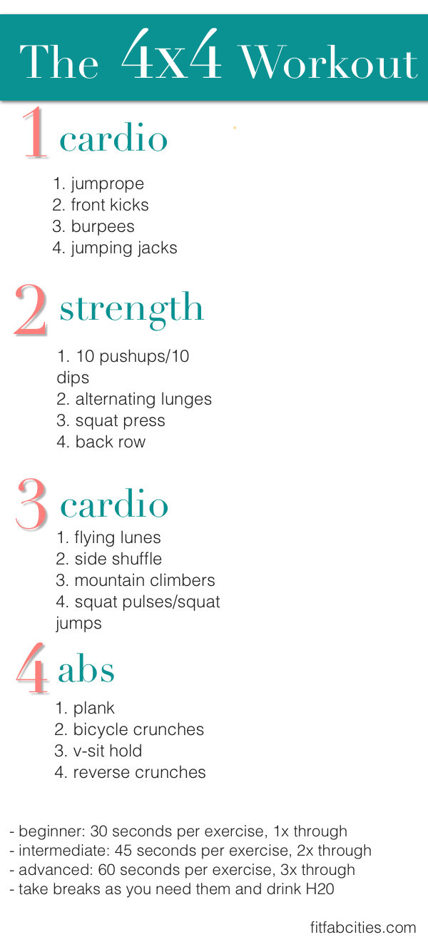 Printable Workout  The...